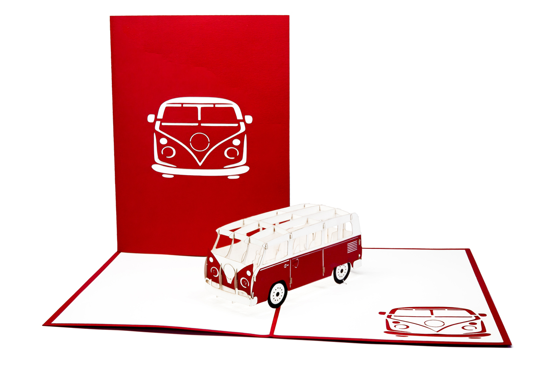 Bulli - Minibus rot