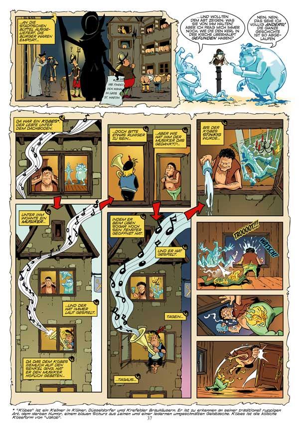 Die DomSpitzen - Comic (Deutsch)
