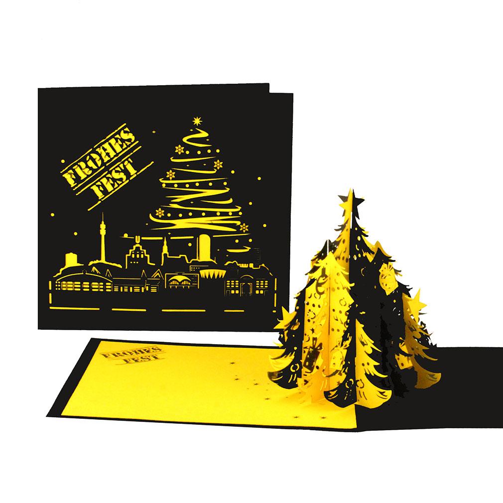 """3er Set Weihnachtskarten """"Dortmund"""""""
