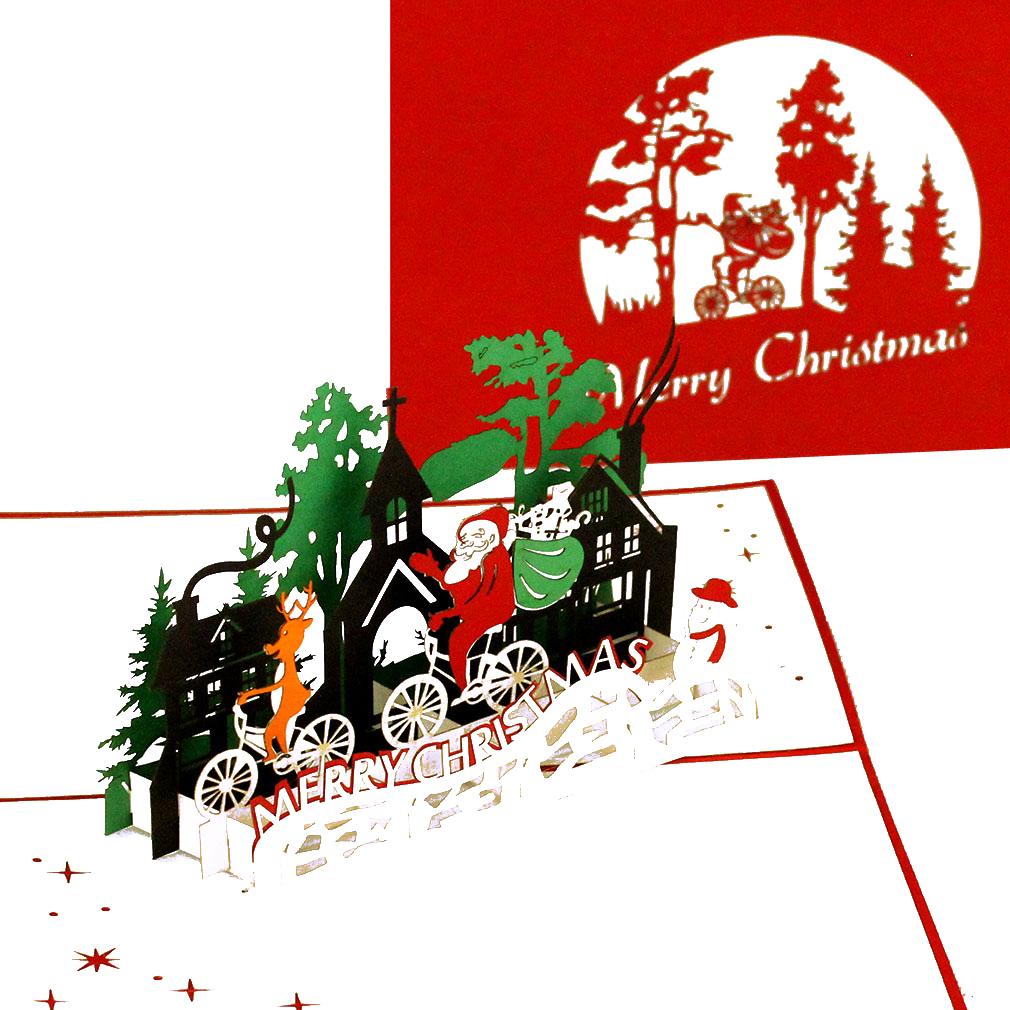 Weihnachtsmann & Rentier