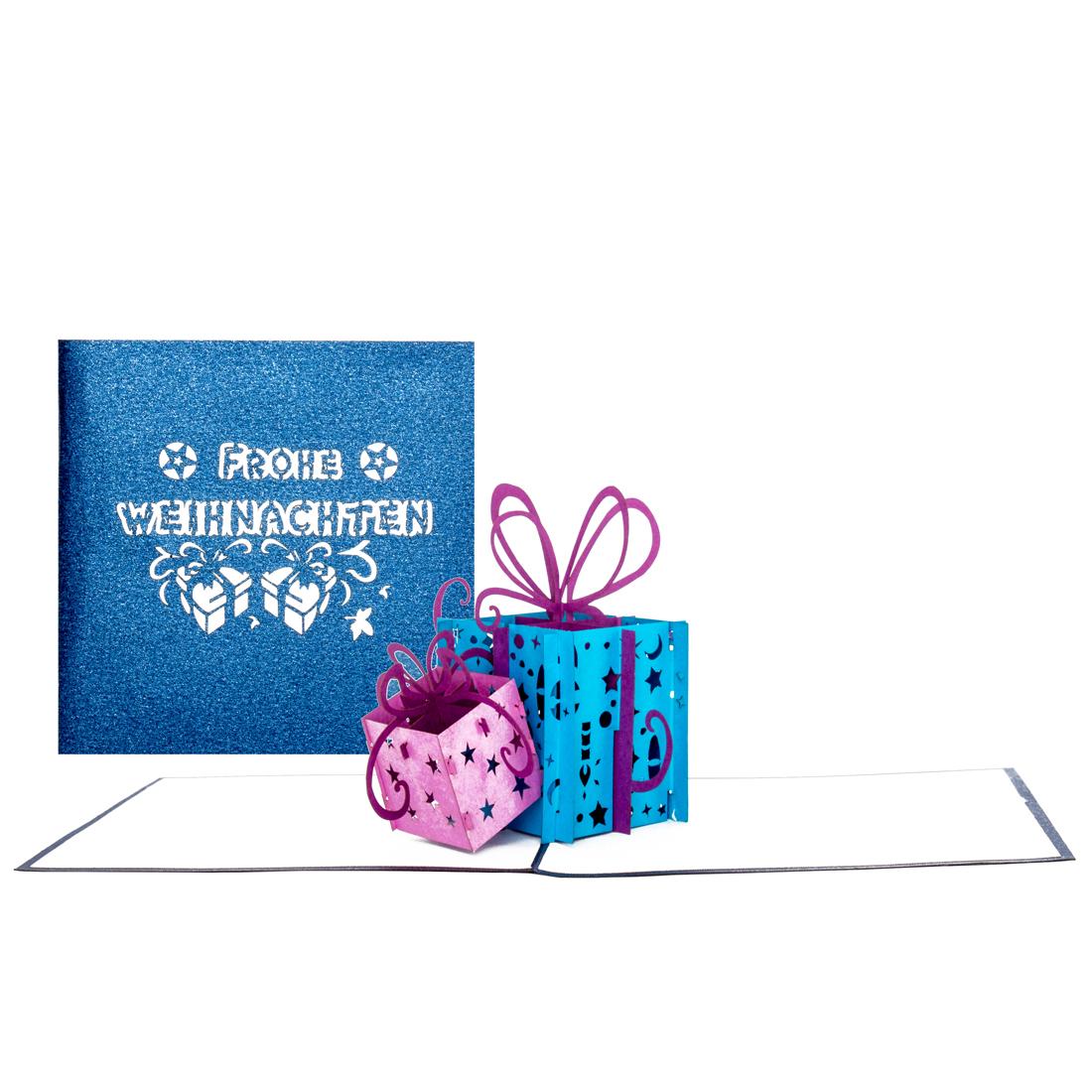 Geschenke - Blau & Violet