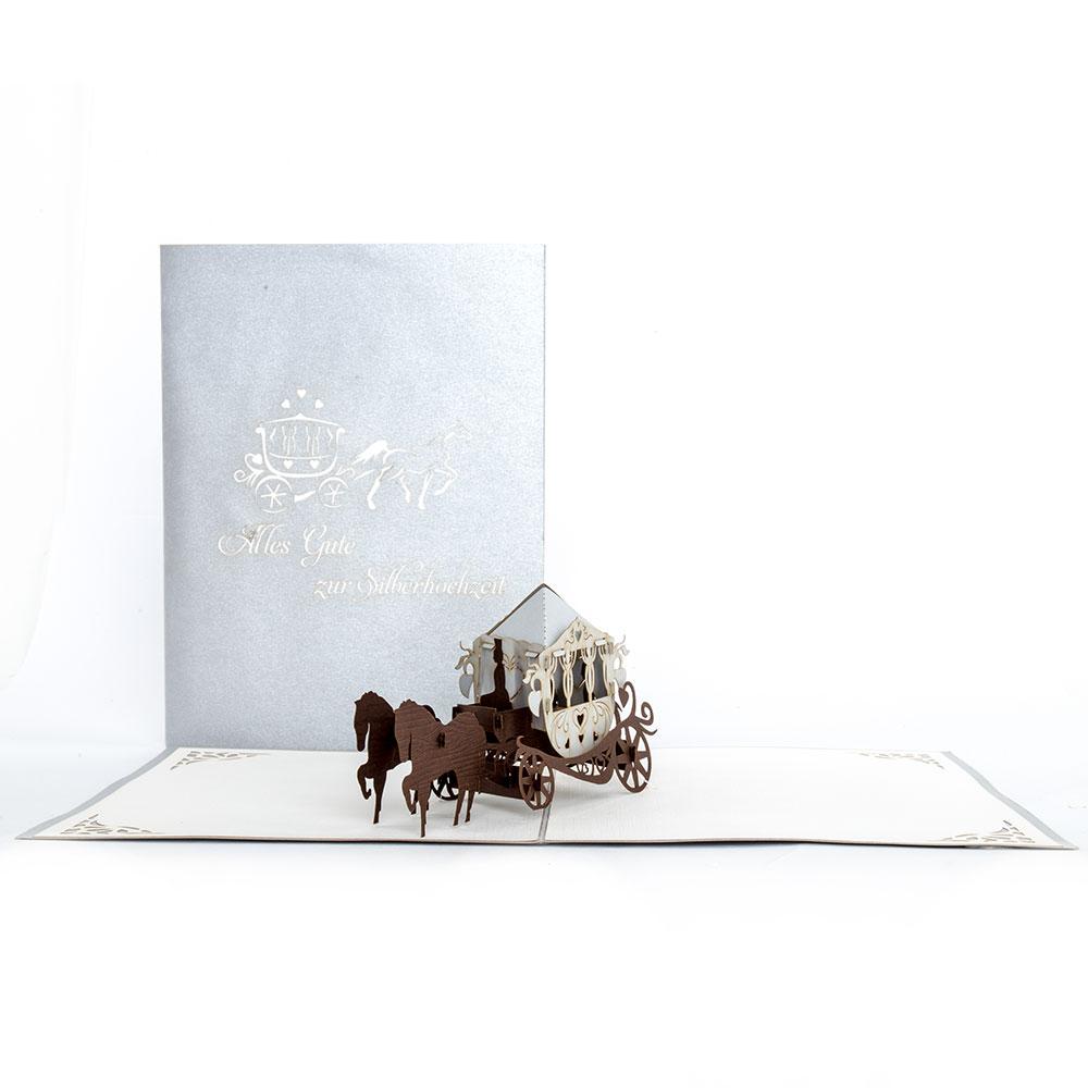 Hochzeitskutsche - Silberhochzeit