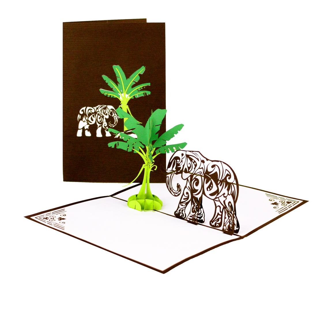 Elefant & Bananenbaum